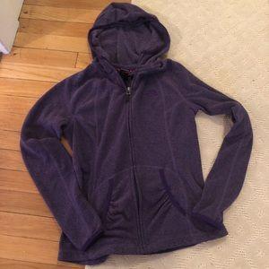 Lightweight zip up north face hoodie size S EUC!